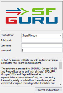SFGuru-Explorer-Start